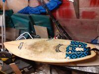 Lost mayhem sub driver surfboard