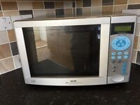 Dishwasher and combination mircowave oven
