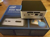 Intel NUC Small Form Factor PC - Windows 10 - 8GB RAM - 240 SSD