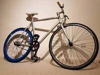 Large fixie single speed bike