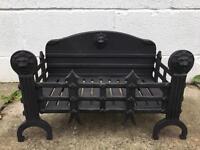 Antique Fire Basket