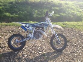 Husqvarna TC50 youth motocross bike