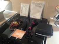 KENWOOD SINGLE DIN SAT NAV UNIT