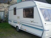 Bailey Ranger GT 50 460/2 2 Berth Caravan with Porch Awning.