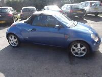 ford ka convertable streetka 1.6 2004, 04 reg, only 69,000 miles,