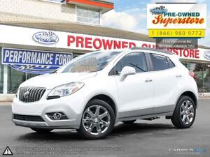 2016 Buick Encore Leather***Sunroof, AWD***