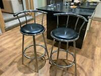 Bar stools x2