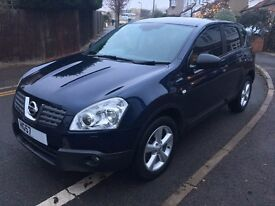 2007 Nissan Qashqai 2.0 DCI Tekna Auto Diesel Panoramic Roof Keyless Start/Entry 2WD/4WD HPI CLEAR