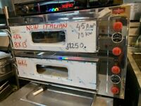 NEW ITALIAN 2 DECK PIZZA BAKERY CAFETERIA OVEN FAST FOOD CATERING COMMERCIAL KITCHEN SHOP
