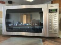 Panasonic NN-CT585SBPQ Freestanding Combination Microwave Oven, Stainless Steel