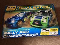 Scalextric 4x4 Rally Pro Championship Set