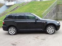 2007 57 BMW X3 3.0 D M SPORT 5d AUTO 282 BHP *FINANCE AVAILABLE*6 MONTHS WARRANTY*