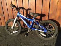 "16"" Blue Boys bike"