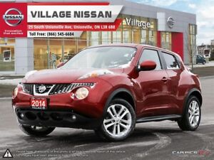 2014 Nissan Juke SL AWD WITH ROOF, NAV & CAMERA! ONE OWNER!