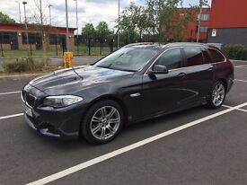 BMW 520d M Sport Touring - FBMWSH, Big SatNav