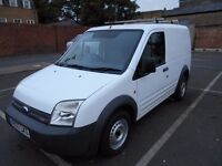 2007FORD TRANSIT CONNECT T200 PANEL VAN SERVICE HISTORY YEAR MOT ROOF RACK [low miles]