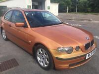 BMW 3 SERIES 316 TI COMPACT 2 DOORS