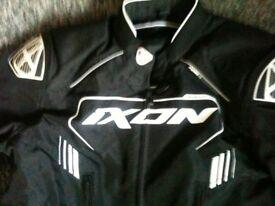 NEW-Ixon Zephyr HP Textile Motorcycle Jacket-XL