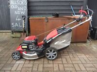 HONDA LAWN MOWER OHC 190CC AUTOCHOKE SYSTEM SELF-PROPELLED EXCELLENT CONDITION AS NEW HARDLY USED