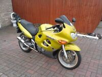 Suzuki gsx600f 1998,low milage,excellent condition