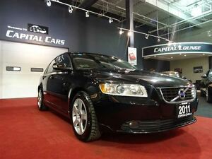 2011 Volvo S40 T5 / LEATHER / SUNROOF / BLUETOOTH