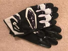 American football gloves large brand new