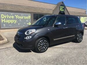 2015 Fiat 500L Lounge / SUNROOF / LEATHER / NAVIGATION