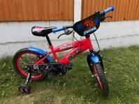 16 Inch Ultimate Spiderman Bike