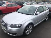 2008 Audi A3 Tdi Diesel Immaculate S LINE Special MOT. TAX. WARRANTED MILES