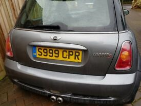 Cherished plate S 999 CPR for sale