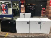 CHEST FREEZERS STARTING AT £120 GRADED NOT USED