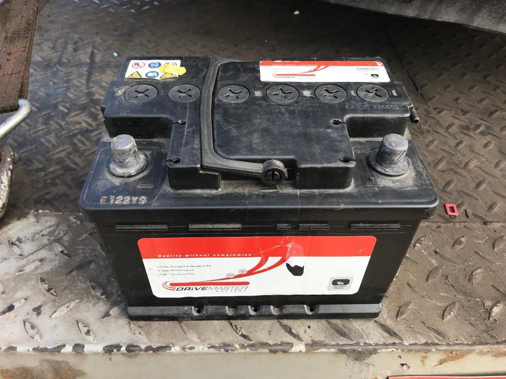 Used Car Batteries >> Used Car Battery Drive Master Dm075 12v 54ah Cca 525 In Maltby