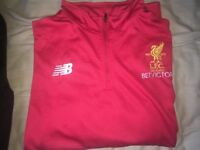 Liverpool Mens Football Tracksuit Shirt&Pants Red 2017/18