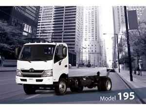2019 Hino 195 Class 5 - GVW of 19,500 lbs / 8,850 kg