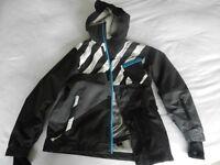 Boys O'Neill Ski Jacket and Dare2B black salopettes. Age