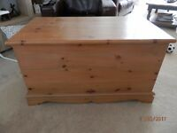 Solid Pine Storage Trunk