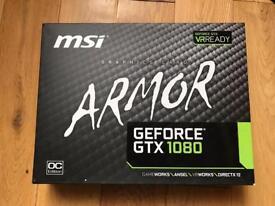 MSI GTX 1080 Armor OC Edition