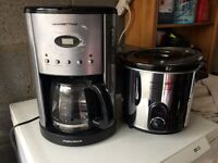Coffee machine and slow cooker