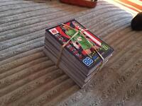Match attax cards plus 2 tins over 300 cards
