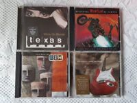 4 CD's - TEXAS, REM, DIRE STRAITS & MEAT LOAF
