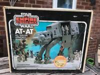 Star Wars Original boxed AT AT walker. 1980s
