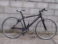 mens bike carrera 700c aluminium frame