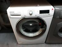 HOOVER 9KG WHITE WASHING MACHINE