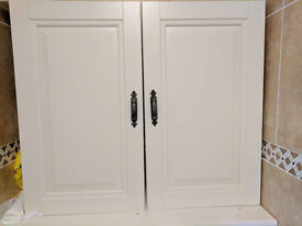NEW IVORY Italy Bathroom/Kitchen Cabinets 17 in total £12