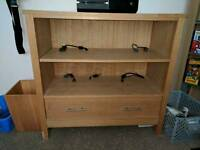 Solid wood TV unit/Sideboard