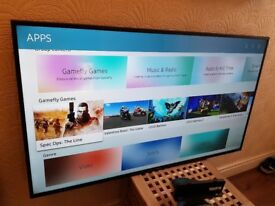 SAMSUNG 50-inch SMART TV, ULTRA UHD 4K HDR LED TV-UE50MU6120,built in Wifi,Freeview HD,Netflix,