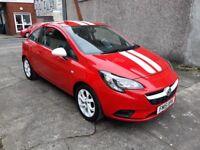 Vauxhall corsa sting 1.2 damaged repaired