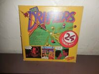VYNYL RECORDS THE DRIFTERS 24 ORIGINAL HITS LARGE COLLECTION CHADDESDEN