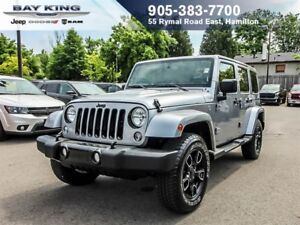 2018 Jeep WRANGLER UNLIMITED ALTITUDE, 4X4, GPS NAV, BLUETOOTH,