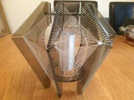 Vintage geometric lampshade